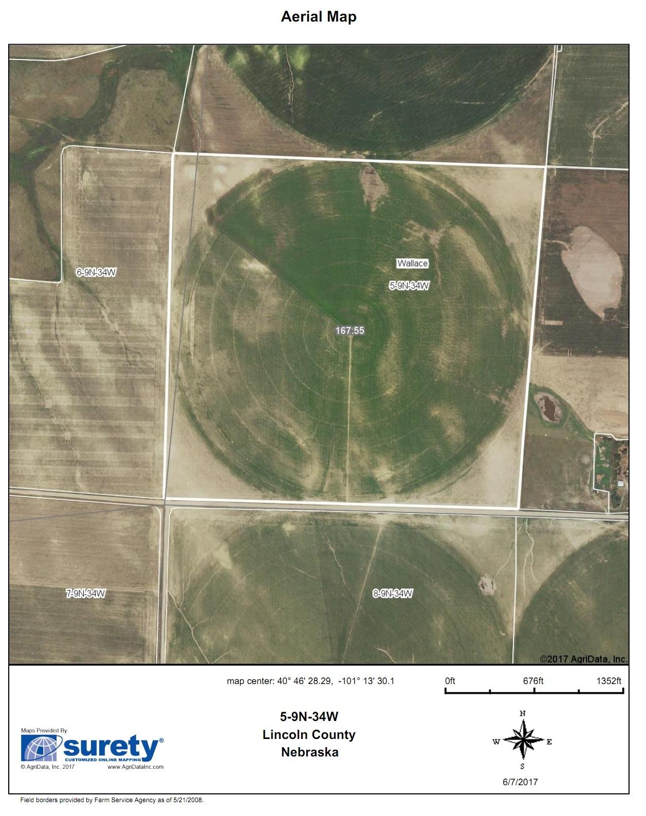 Lincoln FSA Map